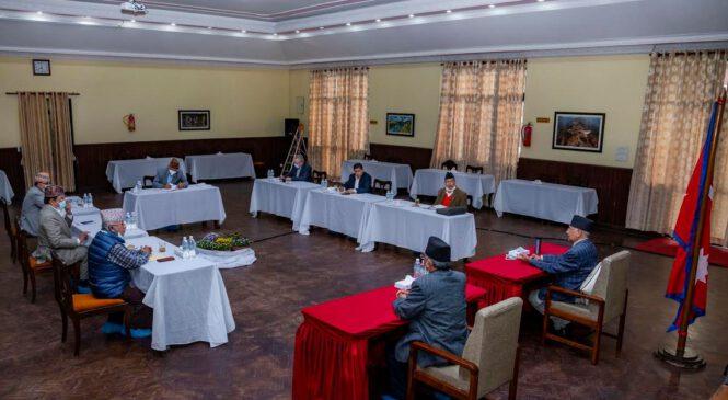 नेकपा सचिवालय बैठक सकियो : अर्को बैठक मंगलबार