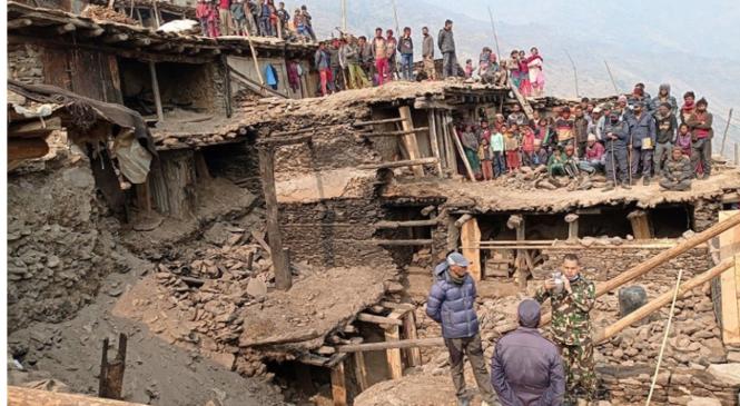 हुम्लाको ठेहे गाउँमा भेटिएका दुवै बम नेपाली सेनाद्धारा निस्क्रिय