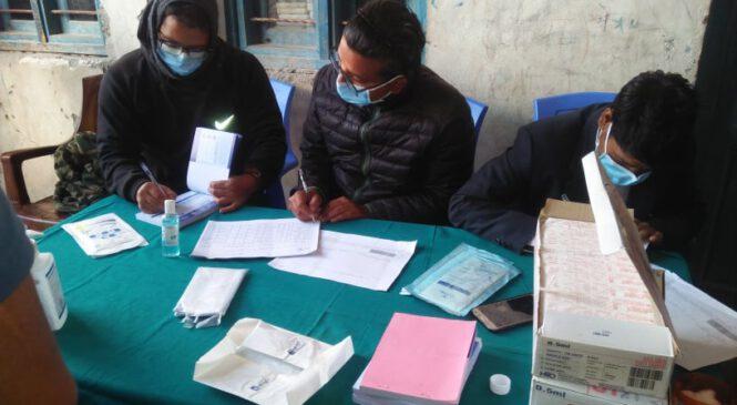 कोरोना खोप अभियानका लागि हुम्लामा १०६ केन्द्र तोक्यो