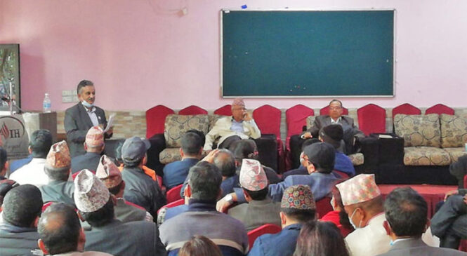 नेपाल समूहको ओलीलाई १३ घण्टे अल्टिमेटम