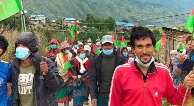 हुम्लामा जनता समाजवादीको 'सुज अभियान' शुरु
